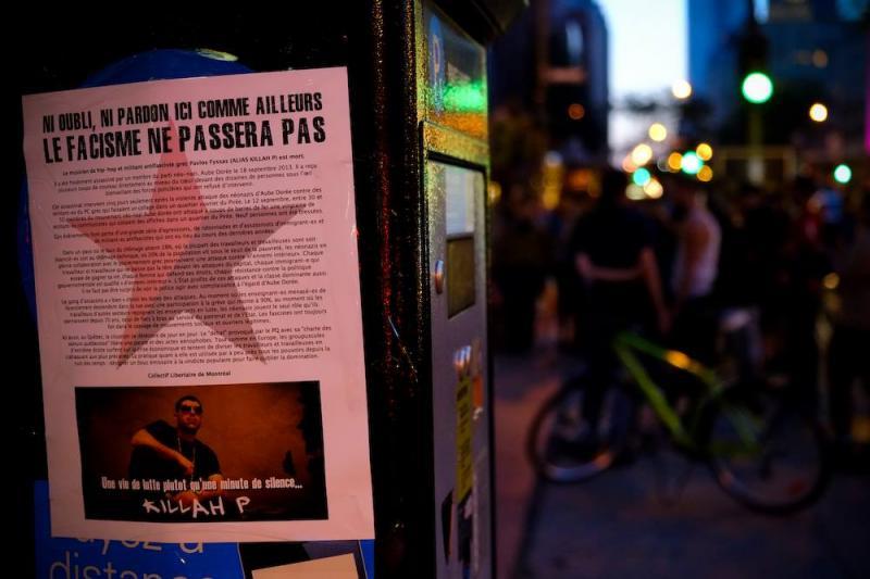 (Acción solidaria en Montreal, Canadá)