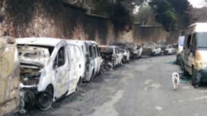 Последствия поджога в Барселоне