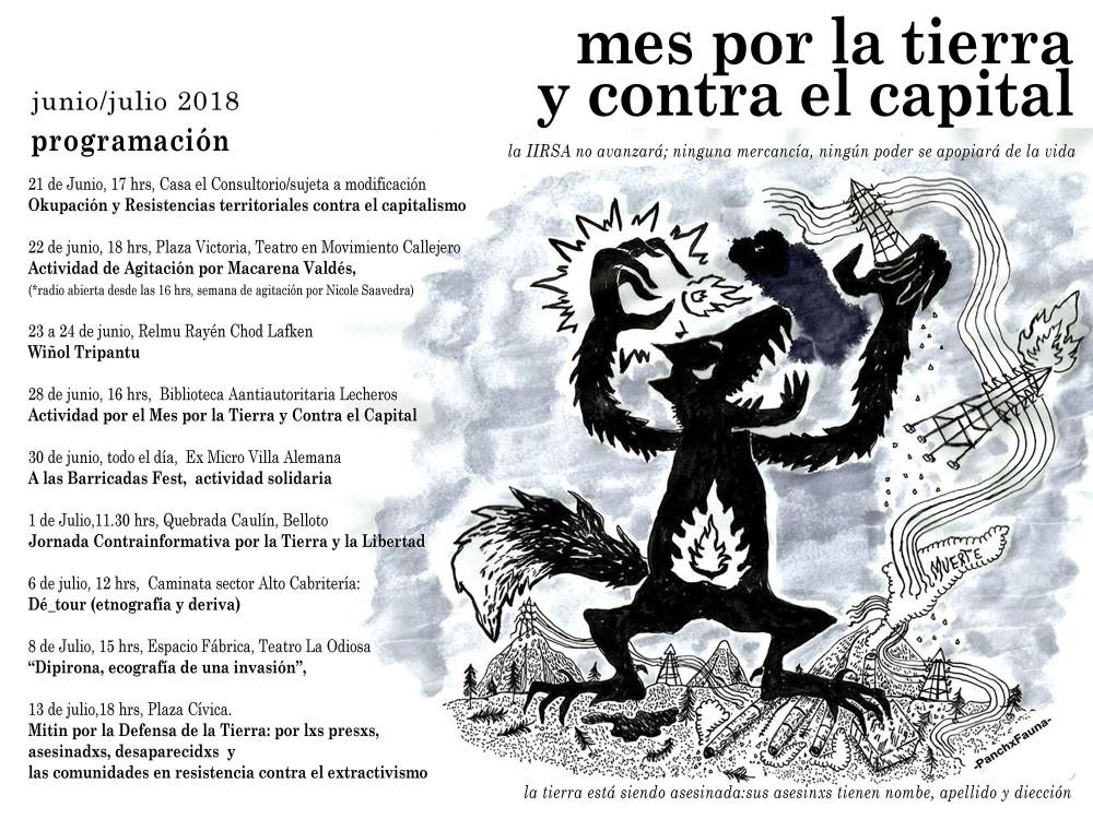 Valparaíso, Chile: Actividades en el marco del mes por la tierra y ...